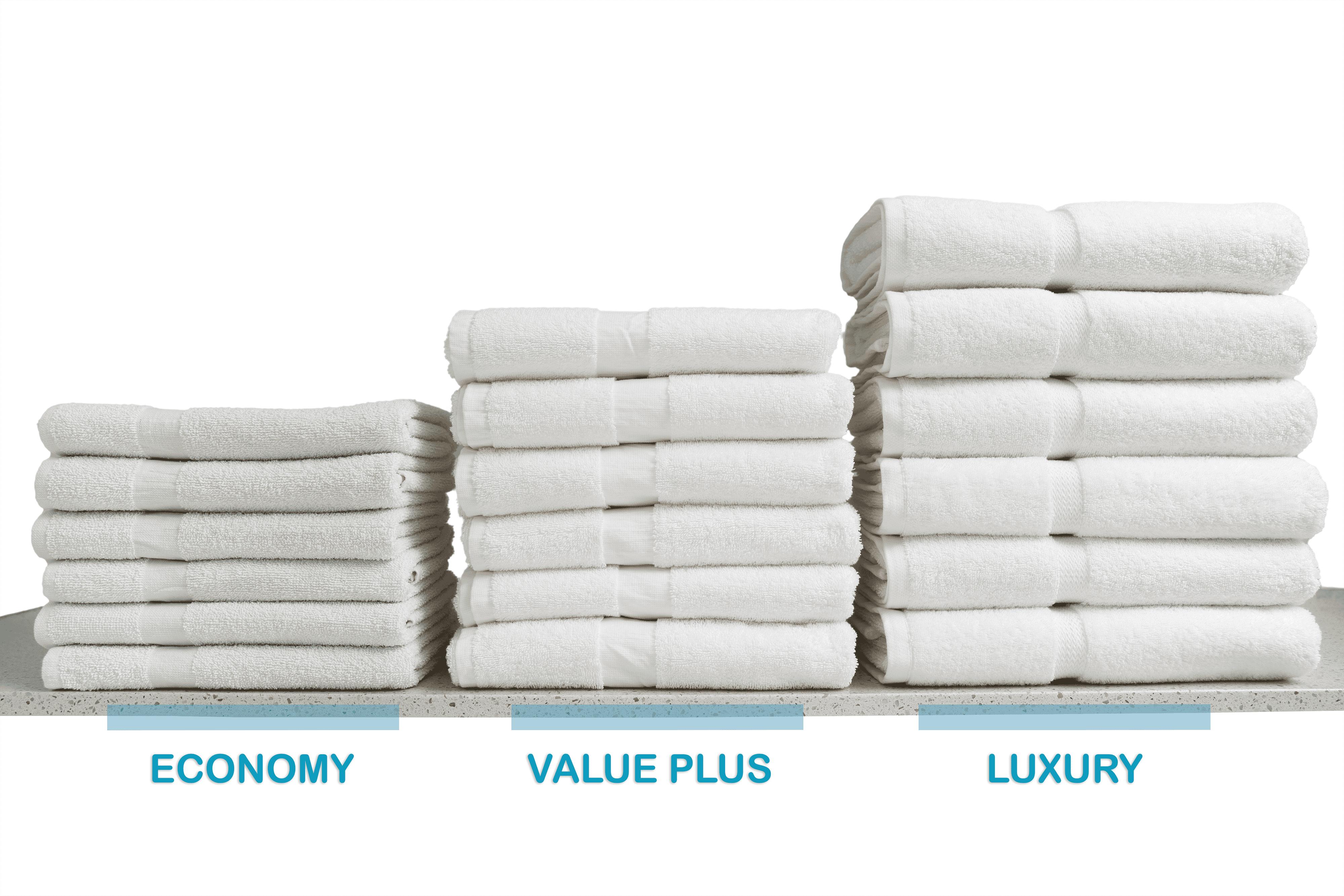 Bulk Bath Towel Quality Comparison - Image Textile